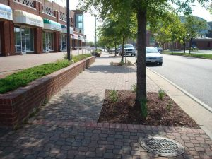 interlocking paver sidewalks tidewater