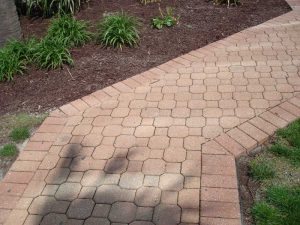 conrcrete sidewalk patio design virginia beach